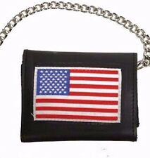 "Nylon Tri fold   wallet 5"" with zippered Key & Coin pocket, hook & loop-closure"