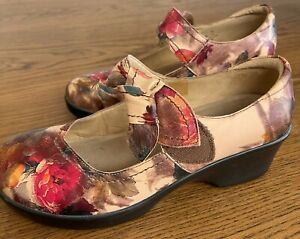Near New ALEGRIA Mary Jane Shoes - size 41