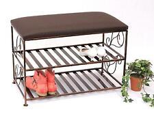 Armoire à chaussures avec banc art.222 Banc 70 cm Meuble à chaussures en métal