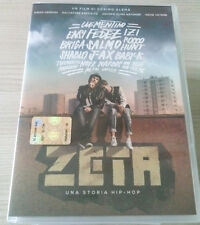 ZETA UNA STORIA HIP-HOP (2016) FILM DVD PERFETTO SPED GRATIS SU + ACQUISTI!!!