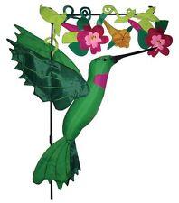 "Inflatable Hummingbird Flower Garden Flag 31"""