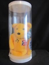 Very Rare! - Mint- 1998 Salvino's Bamm Beano's Roberto Clemente #21 Yellow Bear