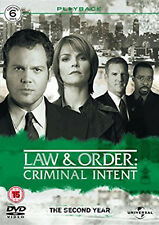 LAW AND ORDER:CRIMINAL INTENT COMPLETE SERIES 2 DVD 2nd Second Year Season Two