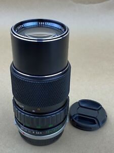 Olympus OM 75-150mm F/4 Zuiko Auto-Zoom OM-System Lens - Clean Glass