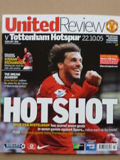 MANCHESTER UNITED v TOTTENHAM HOTSPUR  22nd October 2005