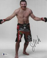 Jim Miller Signed 8x10 Photo BAS Beckett COA UFC 100 200 205 Picture Autograph 1