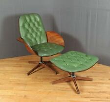 George Mulhauser Mr. Chair lounge chair and ottoman Lot 196