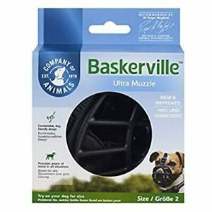 New Baskerville Ultra Dog Muzzle Size 2 - Fits Small Dogs - Quick Free Shipping!