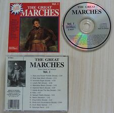 RARE CD ALBUM THE GREAT MARCHES MILITAIRE 14 TITRES MADE IN CANADA S 4557