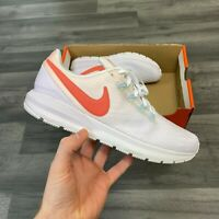 NIKE AIR ZOOM STRUCTURE 22 WOMENS CORL WHITE RUNNING TRAINERS UK6 US8.5 EUR40
