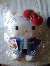 "Hello Kitty Sushi Chef AFC 30th Anniversary 10"" Plush Doll New"