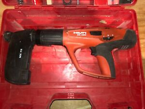 Hilti DX460 MX 72 Powder Actuated Tool