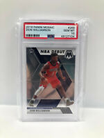 Zion Williamson RC Rookie 2019-20 Panini Mosaic #269 NBA Debut PSA 10 GEM MINT