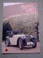 Enjoying MG (July 1990) D-Type Midget, MGB & GT sales literature, Starter motors