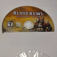Blood Bowl (Legendary Edition) (PC, 2010) DISC AND ACTIVATION ONLY #1581
