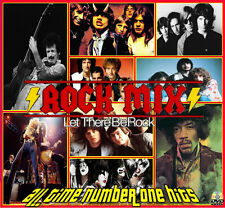 The Ultimate Rock Mix Live!!!!!!! The All time 50 Rock Hits/240 Min Of Classics
