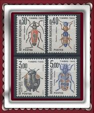 1983 FRANCE TAXE N°109/112** Insectes COLEOPTERES TTB, MNH