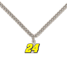 NEW WILLIAM BYRON #24 Necklace NASCAR