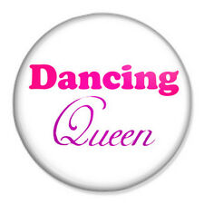 "Dancing Queen 25mm 1"" Pin Badge Button Hen Night Party ABBA"