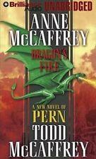 Anne & Todd McCAFFREY / DRAGON'S FIRE (Dragonriders of Pern)  [ Audiobook ]