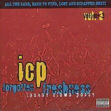 Forgotten Freshness, Vol. 3 [PA] by Insane Clown Posse (CD, Apr-2010, Psychopath