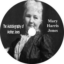 Autobiography of Mother Jones, Audiobook unabridged English non Fiction 1 MP3 CD