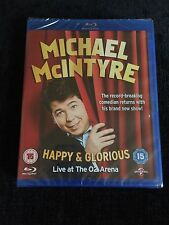 Michael McIntyre Happy & Glorious Live At The O2 Arena Blu-ray DVD (Sealed)