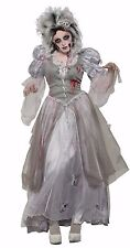 Adult Zombie Ghost Bride Never After Princess Costume