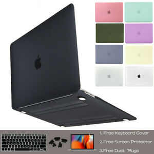 """Laptop Hard Case+Keyboard Cover+Screen Film For Macbook Air/Pro 11 12 13"""" 15 16"""""""