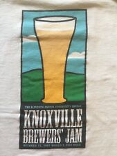 M white KNOXVILLE BREWERS' JAM 2007 CREW t-shirt by HANES