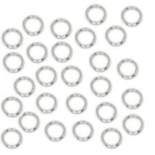 Lot 500 ANNEAUX DOUBLES Argentés 7mm - Perles Création bijoux, Apprêts