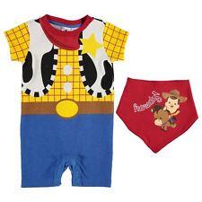 Disney Pixar Toy Story Woody Baby Jungen Strampler Bandana Set 2tlg.56-62 Neu