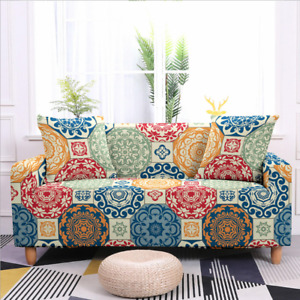 Stretch Sofa Slip Covers Slipcovers Spandex Couch Cover 1/2/3/4 Seater Protector