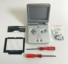Replacement Housing for Nintendo GBA Game Boy Advance SP Shell Platinum Silver