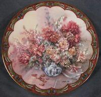 Petal Playmates Collector Plate Lena Liu Second Flower Fairies WS George Hidden