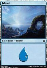 Island (293) NM Commander Anthology Basic Land Common MTG