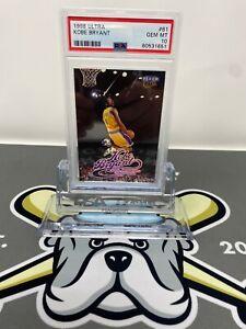 1998-99 Fleer Ultra Kobe Bryant Card #61 PSA 10 GEM MINT POP 32