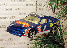 CHEVY LUMINA STOCKER Stock Car CHRISTMAS TREE ORNAMENT Blue race racing XMAS