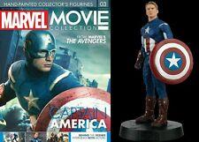 Figure Eroe Capitan America Marvel Seconda Uscita Movie Collection The Avengers