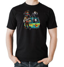 Horror Trip T-Shirt Boys  Black | freddy, jason, michael myers, scooby doo,