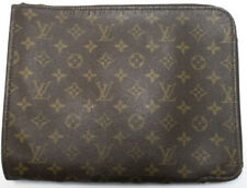 Louis vuitton pochette Document pm case Business Bag bolso bolso de cultura clutch