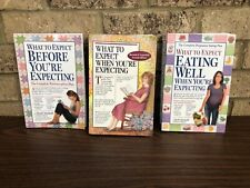 "Lot of 3 - ""What to Expect When You're Expecting"" Paperback BOOKS"