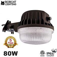 LED Yard Light Security Light 80 Watts Dusk To Dawn 8500 Lumen Photo Cell BRONZE