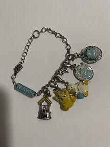 Ganz Webkinz Charm Bracelet & Necklace With 5 Webkinz Charms