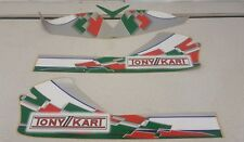 TONYKART  kart stickers, For M3 Nose Cone 2006 Genuine old stock unopened