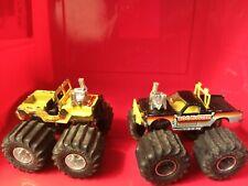 Matchbox Super Chargers Monster Truck Mud Monster & Bug Buster 1985 & 1986