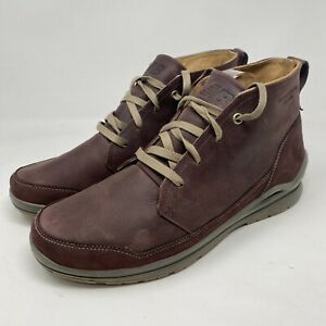 New Balance BM3020BC MW3020v1 Brown Leather Lace-Up Ankle Boots Men's US 12EE