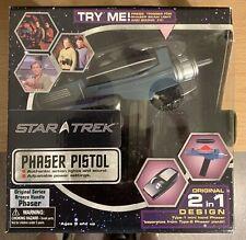 Star Trek Art Asylum Original Classic Replica Phaser Pistol Nib Collectible