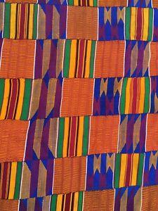 Vintage Kente,Kumasi Shanti cloth Ghana