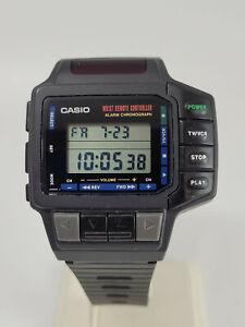 Vintage Men's Casio Wrist Remote Controller Digital Watch - CMD-10 - Module 1138
